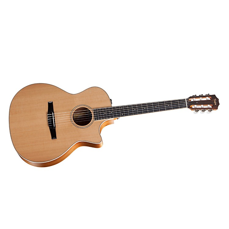 Taylor2012 Fall Limited 414ce-N-FLTD Grand Auditorium Nylon String Acoustic-Electric Guitar