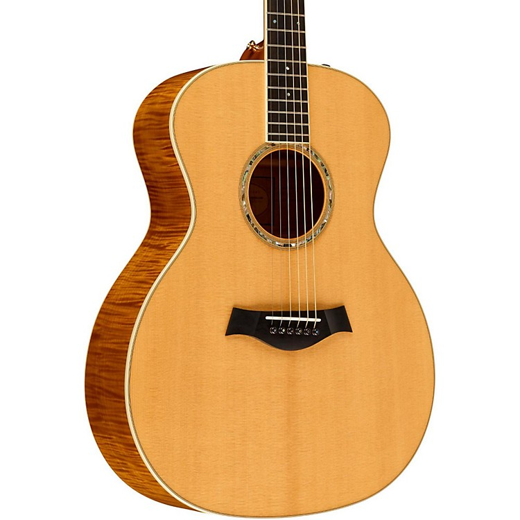 Taylor2012 GA6e-L Maple/Spruce Grand Auditorium Left-Handed Acoustic-Electric Guitar