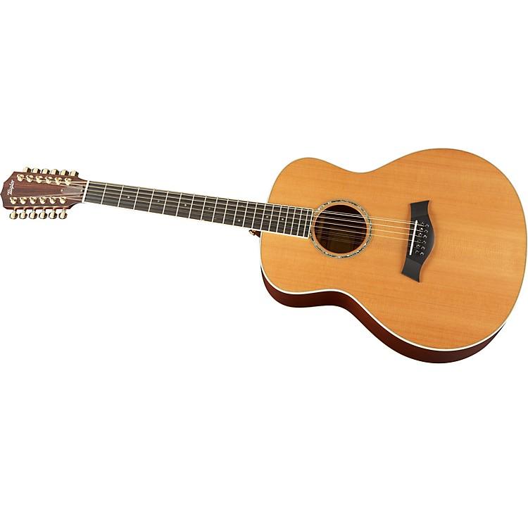 Taylor2012 GS5-12-L Mahogany/Cedar Grand Symphony 12-String Left-Handed Acoustic Guitar