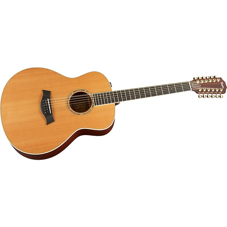 Taylor 2012 GS5e-12-L Mahogany/Cedar Grand Symphony 12-String Left-Handed Acoustic-Electric Guitar