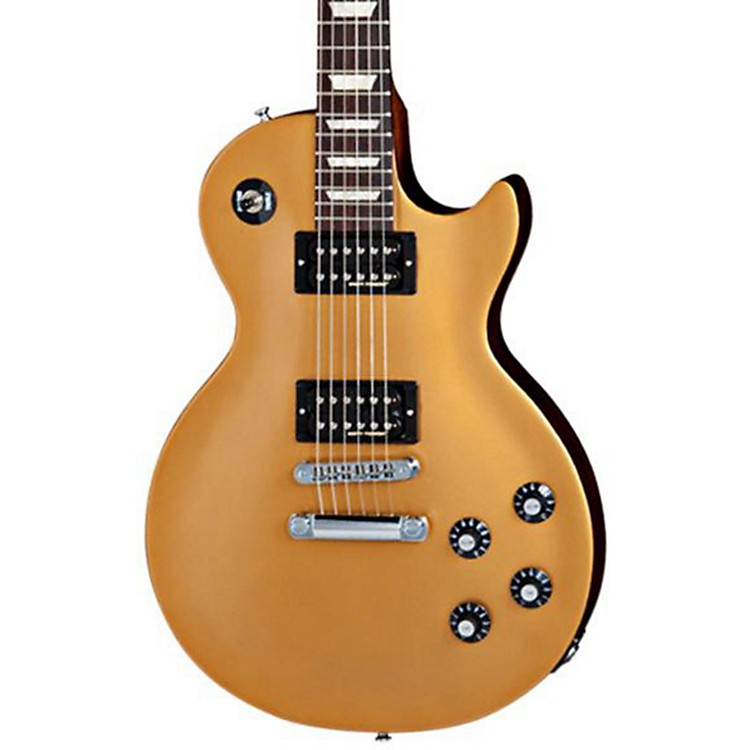 Gibson 2013 Les Paul '70s Tribute Electric Guitar Gold Top, Black Back