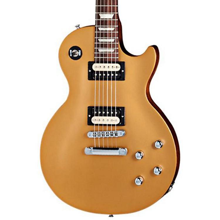 Gibson2013 Les Paul Future Tribute Electric GuitarGold Top, Black Back