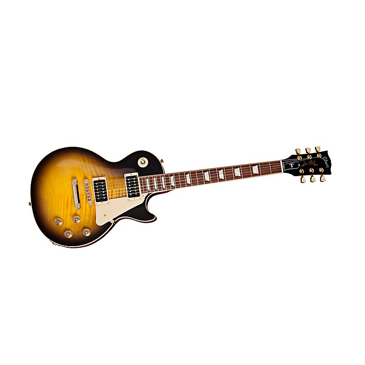 Gibson 2013 Les Paul Signature T Gold Series Electric Guitar Vintage Sunburst