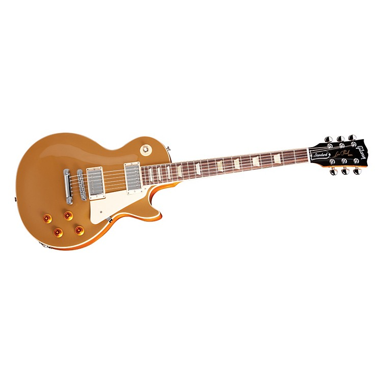 Gibson 2013 Les Paul Standard Gold Top Electric Guitar