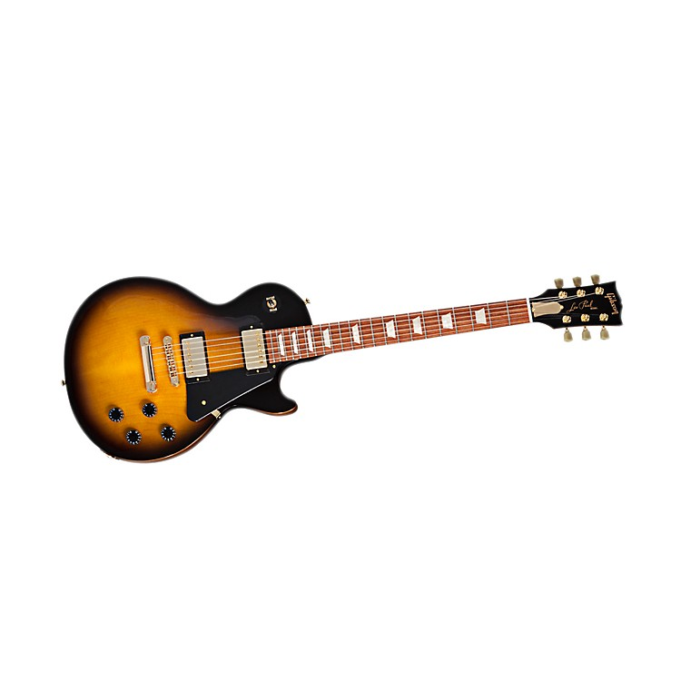 Gibson 2013 Les Paul Studio Gold Series Electric Guitar Vintage Sunburst
