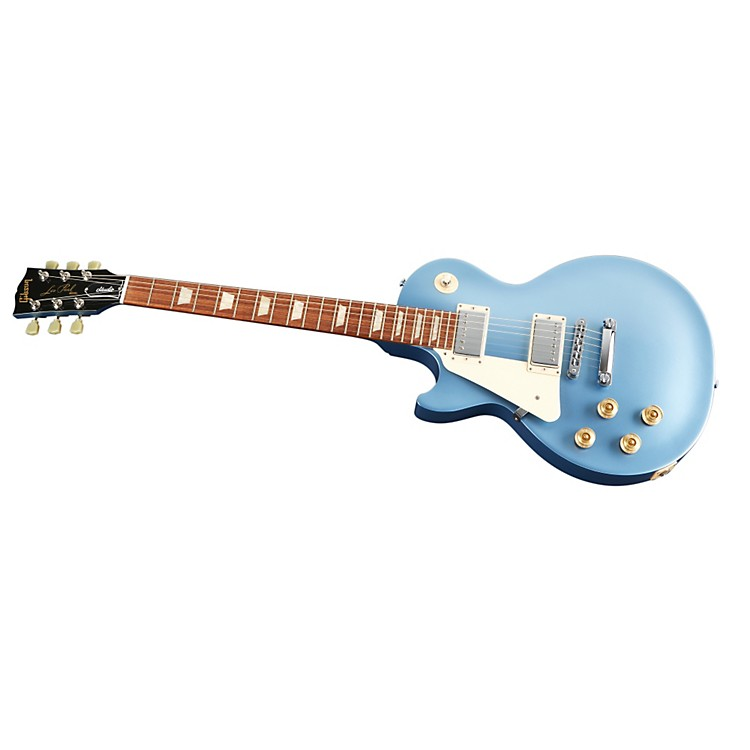 Gibson 2013 Les Paul Studio Left-Handed Electric Guitar Pelham Blue Chrome Hardware