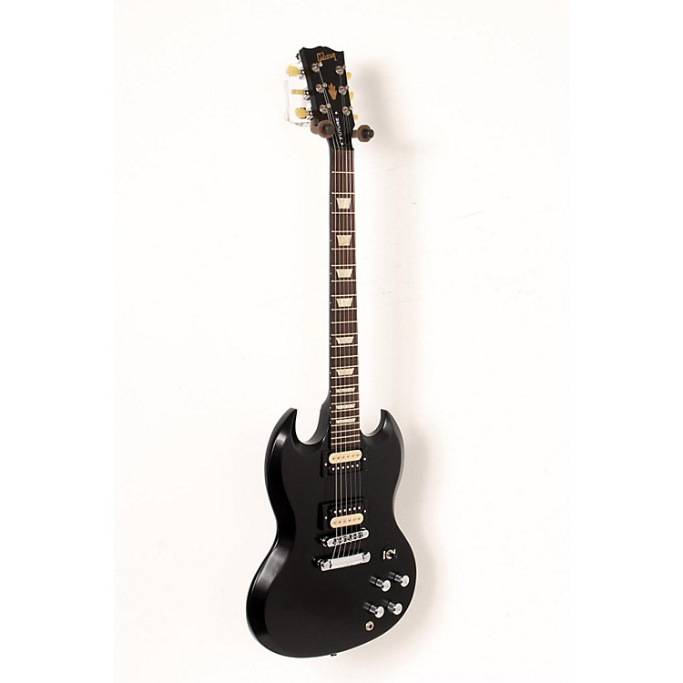Gibson 2013 SG Tribute Future Min-ETune Electric Guitar Ebony 888365898681