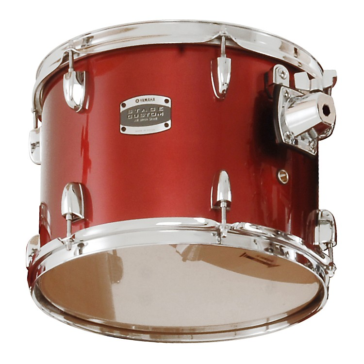 Yamaha 2013 Stage Custom Birch Add-On Tom 12 X 9 Dark Silver Metallic