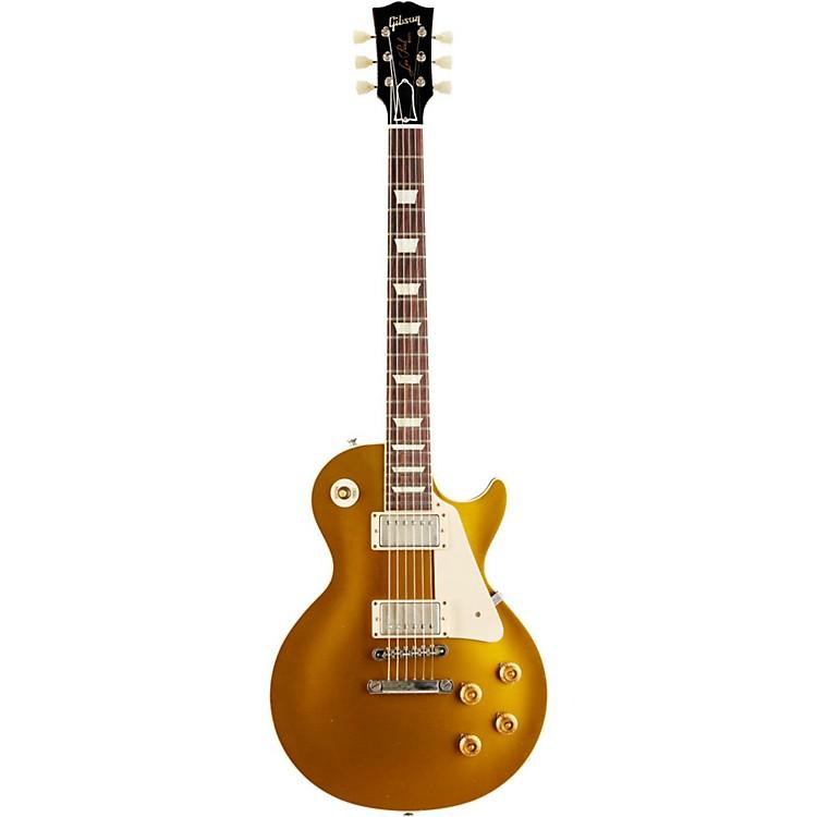 Gibson Custom2014 1957 Les Paul Reissue VOS Electric GuitarAntique Gold