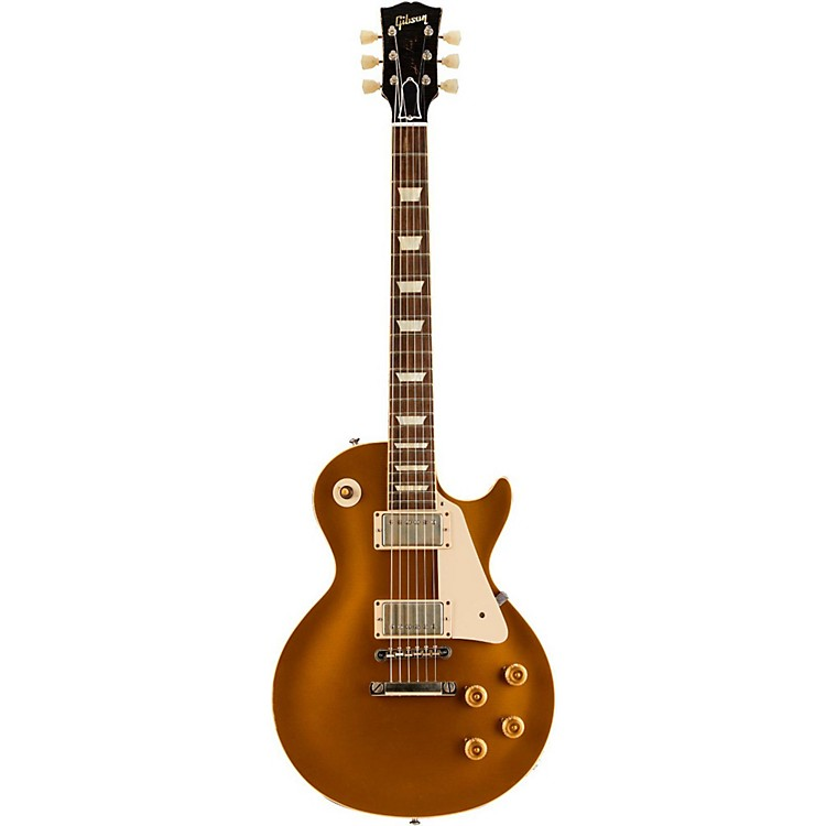 Gibson Custom 2014 1957 Les Paul Reissue VOS Electric Guitar Antique Gold