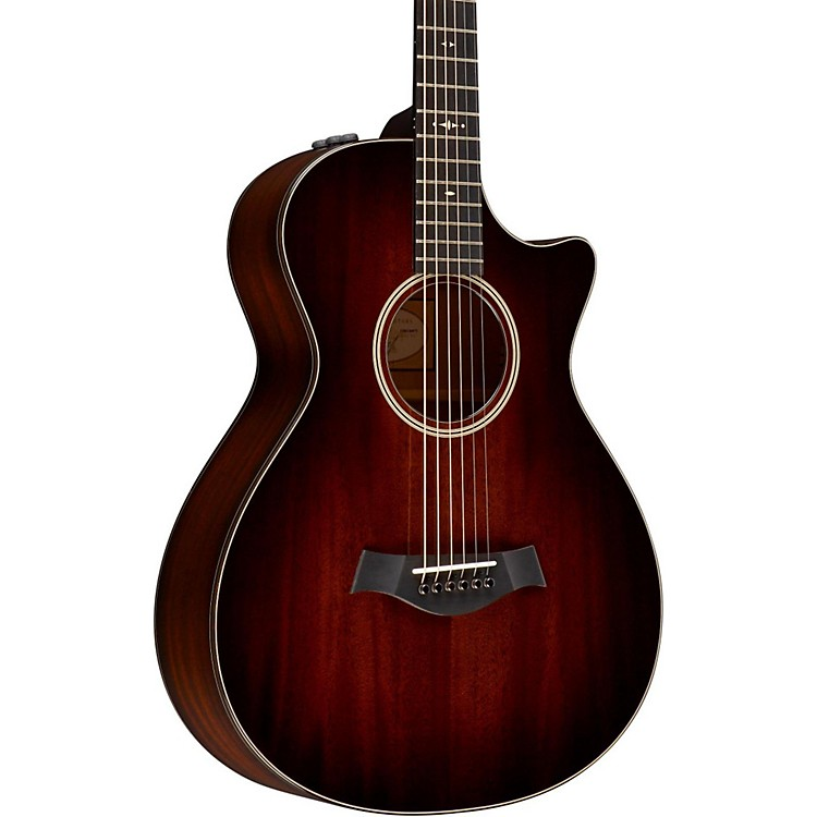 Taylor2014 500 Series 522ce 12-Fret Grand Concert Acoustic-Electric GuitarShaded Edge Burst