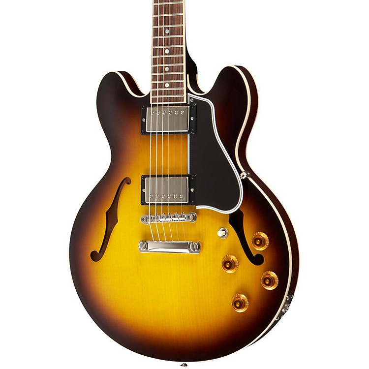 Gibson Custom 2014 CS356 Figured Top Electric Guitar with Bigsby Vintage Sunburst