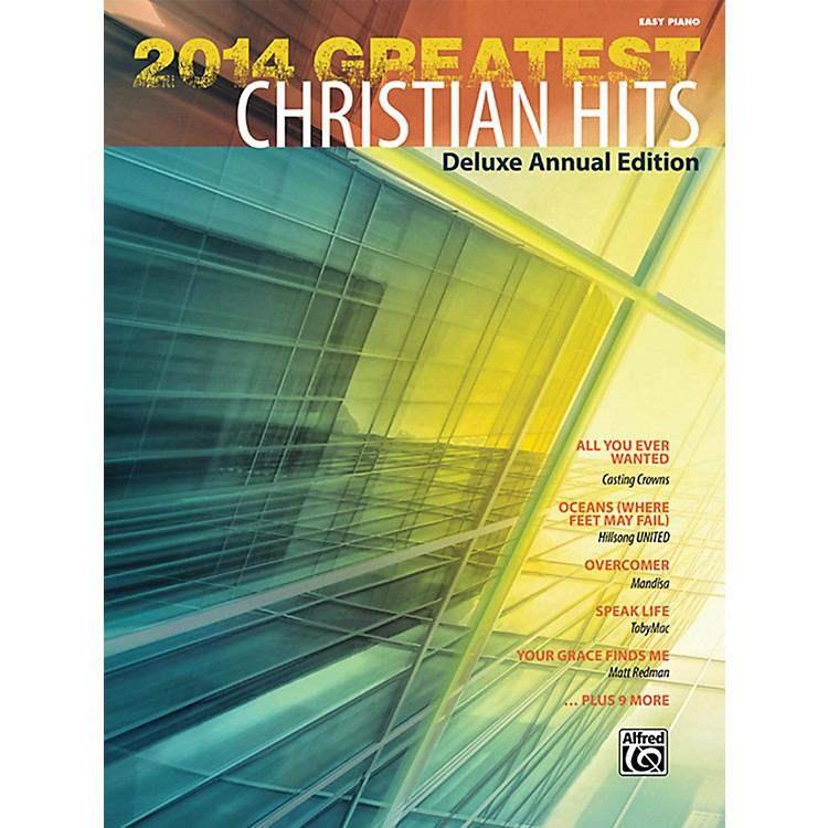 Alfred2014 Greatest Christian Hits Easy Piano Book