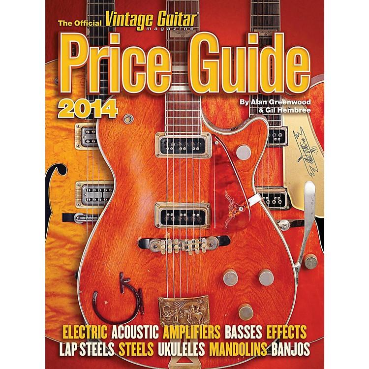 Hal Leonard2014 Official Vintage Guitar Magazine Price Guide