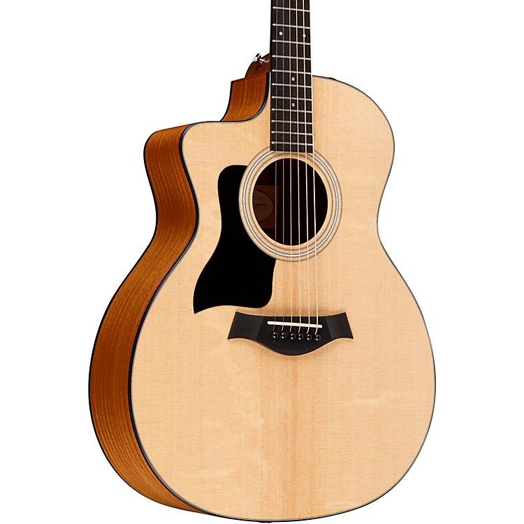Taylor2015 114ce-LH Left-Handed Dreadnought Acoustic-Electric GuitarNatural