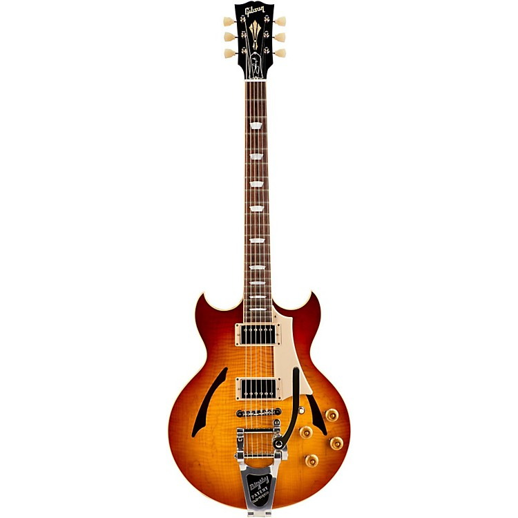 Gibson Custom2015 Johnny A Standard with Bigsby Hollowbody Electric GuitarCherry Burst