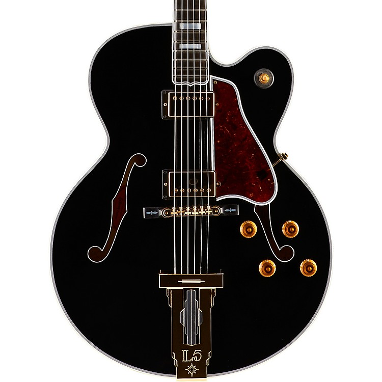 Gibson Custom 2015 L5 CES Electric Hollowbody Ebony