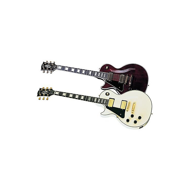 Gibson Custom 2015 Les Paul Custom Left-Handed Electric Guitar Alpine White