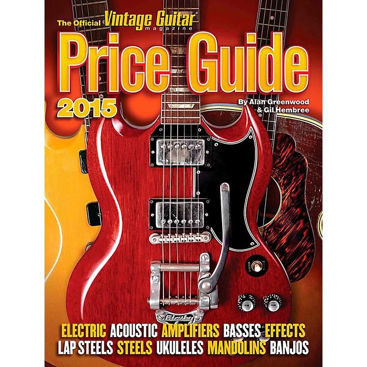 Hal Leonard2015 Official Vintage Guitar Magazine Price Guide