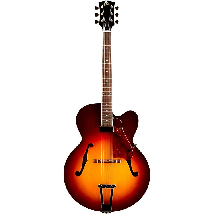 Gibson Custom 2015 Solid-Formed 17 Venetian Cutaway Archtop Hollowbody Electric Guitar Bourbon Burst