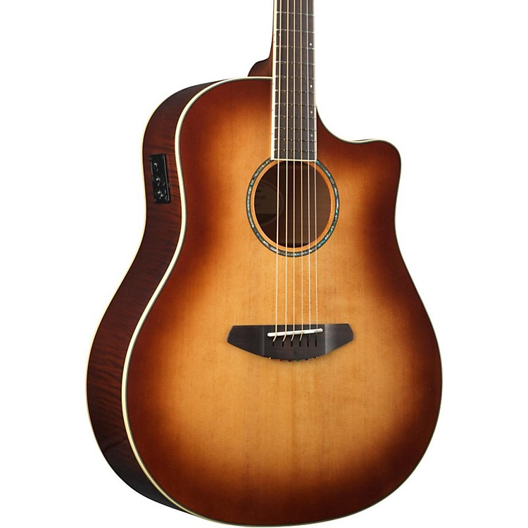 Breedlove 2015 Studio Dreadnought Acoustic-Electric Guitar Sunburst