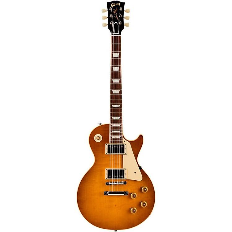 Gibson Custom2015 True Historic 1958 Les Paul Reissue Electric GuitarVintage Lemon Burst