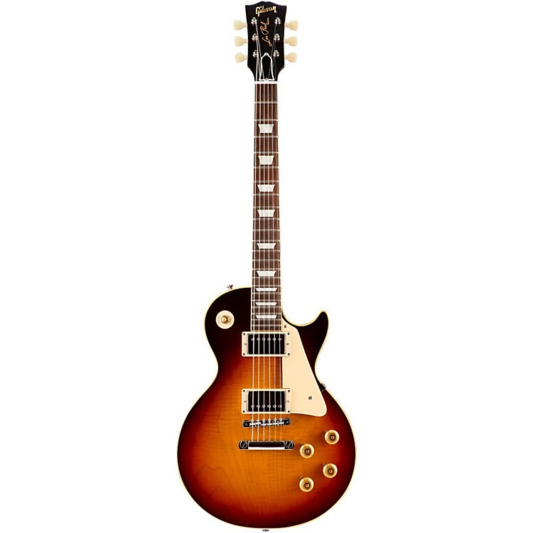 Gibson Custom2015 True Historic 1960 Les Paul Reissue Electric GuitarVintage Dark Burst
