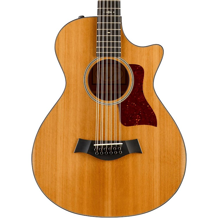 Taylor500 Series 552ce Grand Concert 12-String Acoustic-Electric GuitarNatural