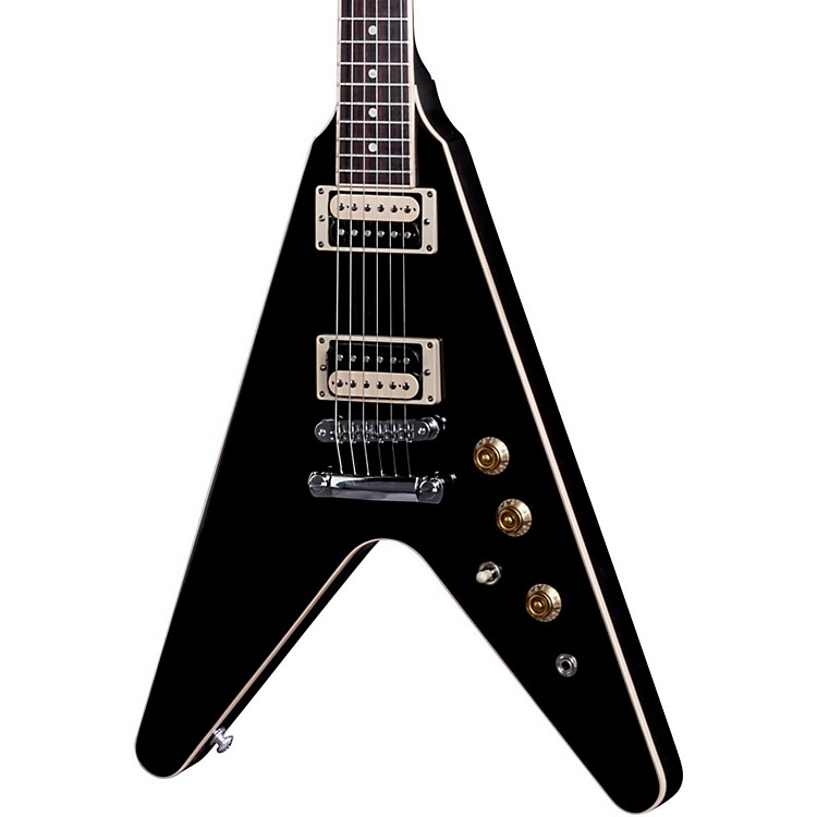 Gibson 2016 Flying V Pro T Electric Guitar Ebony