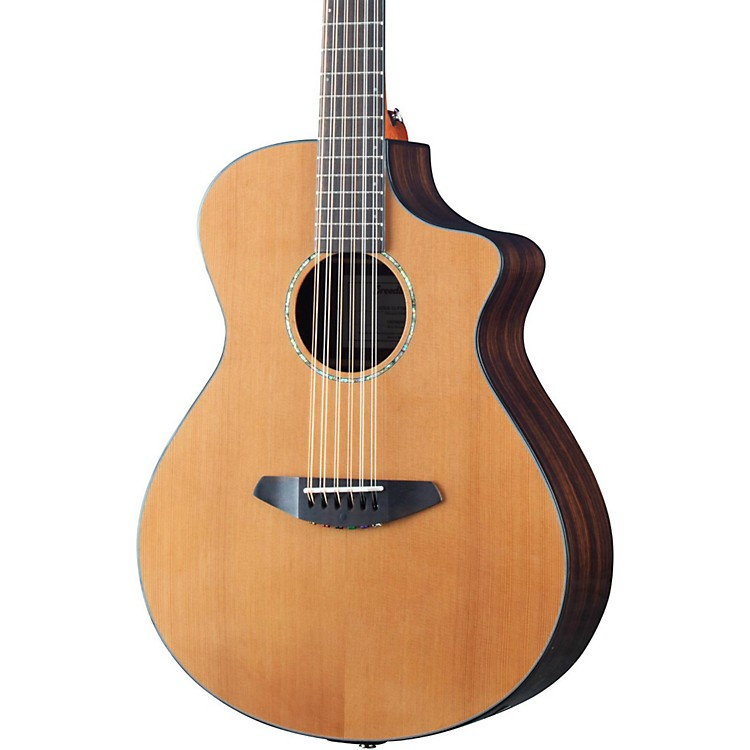 Breedlove2016 Solo 12 String Acoustic Electric GuitarNatural