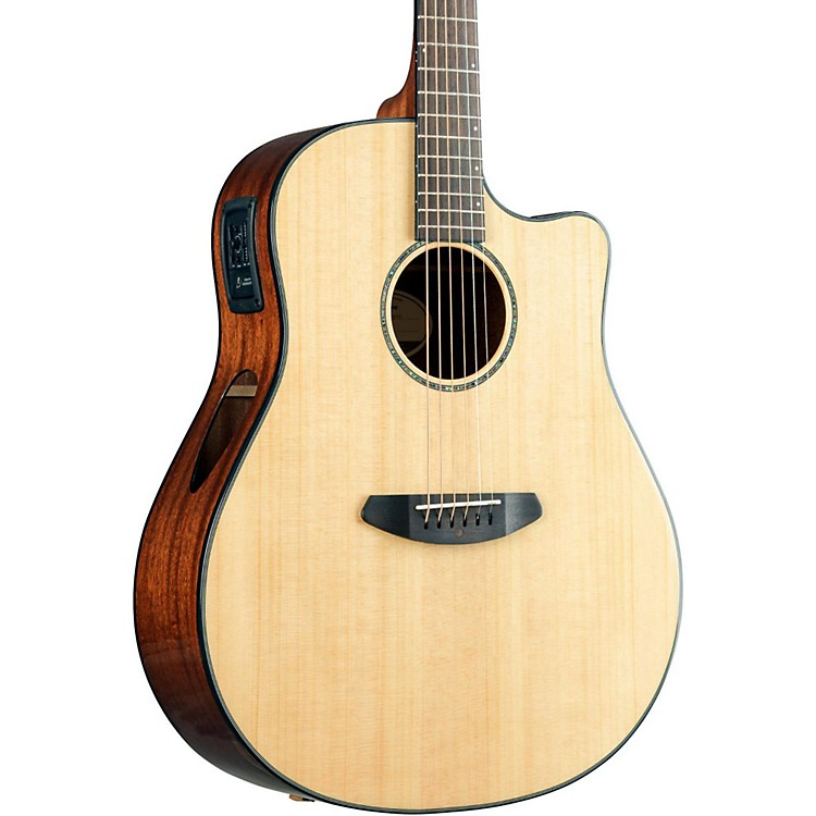 Breedlove 2016 Solo Dreadnought Acoustic Electric Guitar Natural