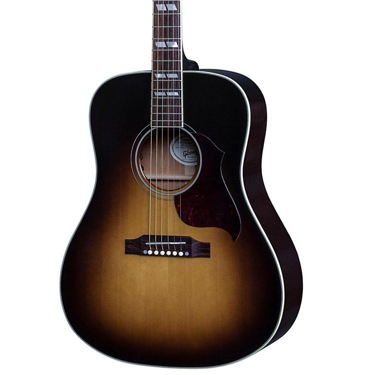 gibson 2017 hummingbird pro acoustic electric guitar vintage sunburst music123. Black Bedroom Furniture Sets. Home Design Ideas