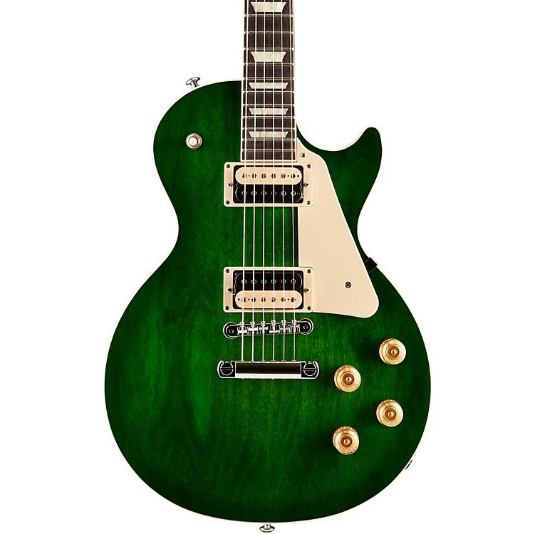 Gibson2017 Les Paul Classic T Electric GuitarGreen Ocean Burst