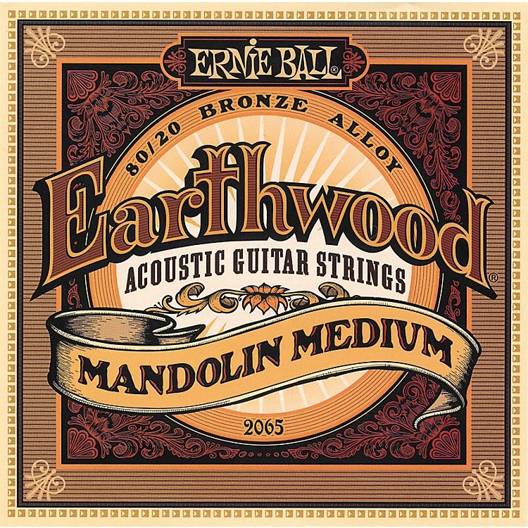 Ernie Ball2065 Earthwood 80/20 Bronze Mandolin Medium Strings