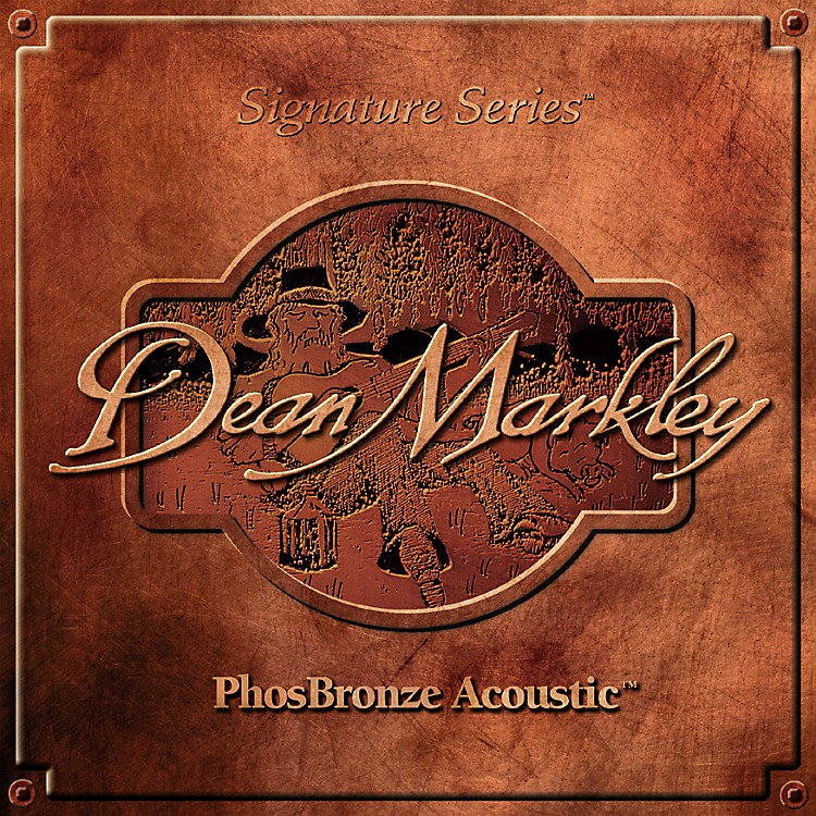 Dean Markley2068A PhosBronze Medium Acoustic Guitar Strings