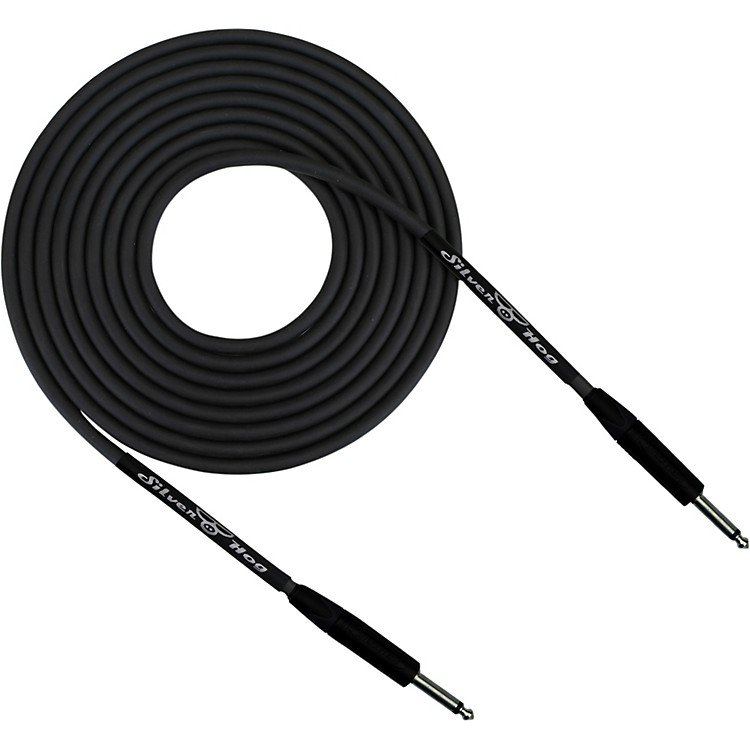 Rapco 20GA CABLE SilverHOG Silver-Plated Instrument Cable 30 ft.