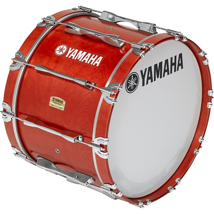 Yamaha 20x14 8200 Field Corp Series Bass Drums Red Forest Stain 20x14