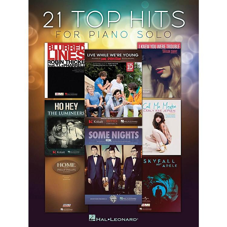 Hal Leonard21 Top Hits For Piano Solo