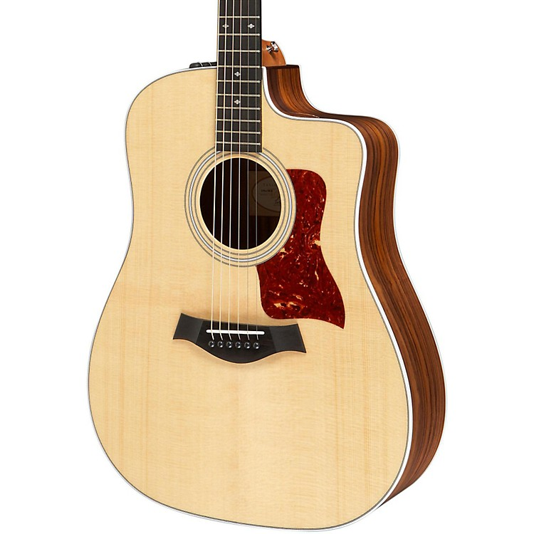 Taylor210ce Deluxe Dreadnought Cutaway Acoustic Electric GuitarNatural