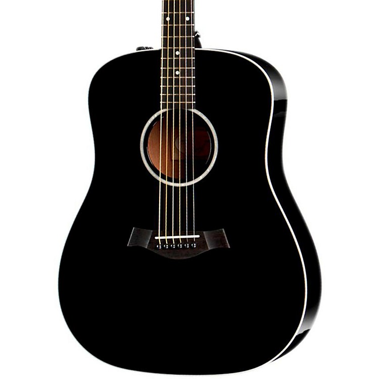 Taylor 210e Dreadnought ES-T Electronics Acoustic-Electric Guitar Black