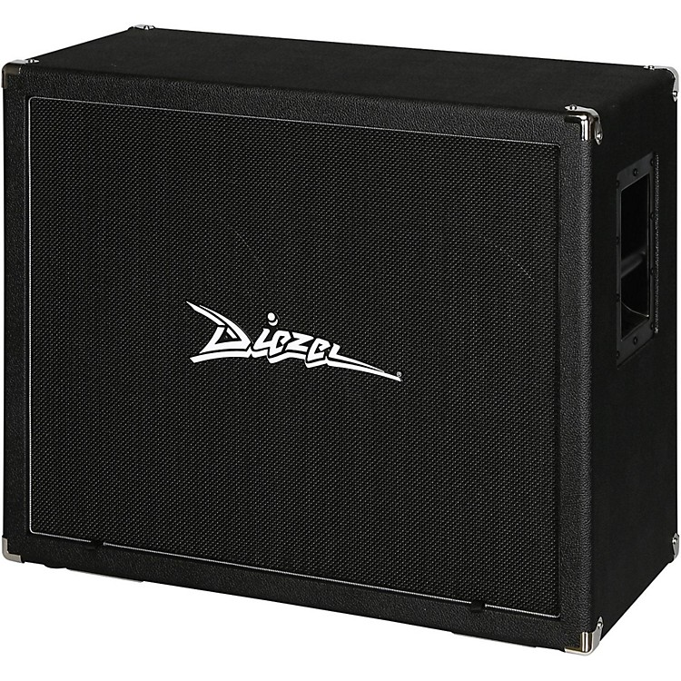 Diezel 212FV 120 2x12 Front-Loaded Guitar Speaker Cabinet with Celestion Vintage 30s Black