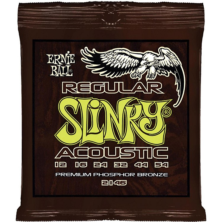 Ernie Ball 2146 Slinky Phosphor Bronze Acoustic Guitar Strings