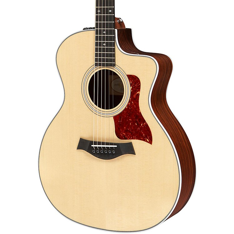 Taylor 214ce Deluxe Grand Auditorium Cutaway Acoustic-Electric Guitar