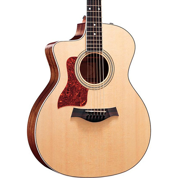 Taylor214ce-L V1 Rosewood/Spruce Grand Auditorium Left-Handed Acoustic-Electric GuitarNatural