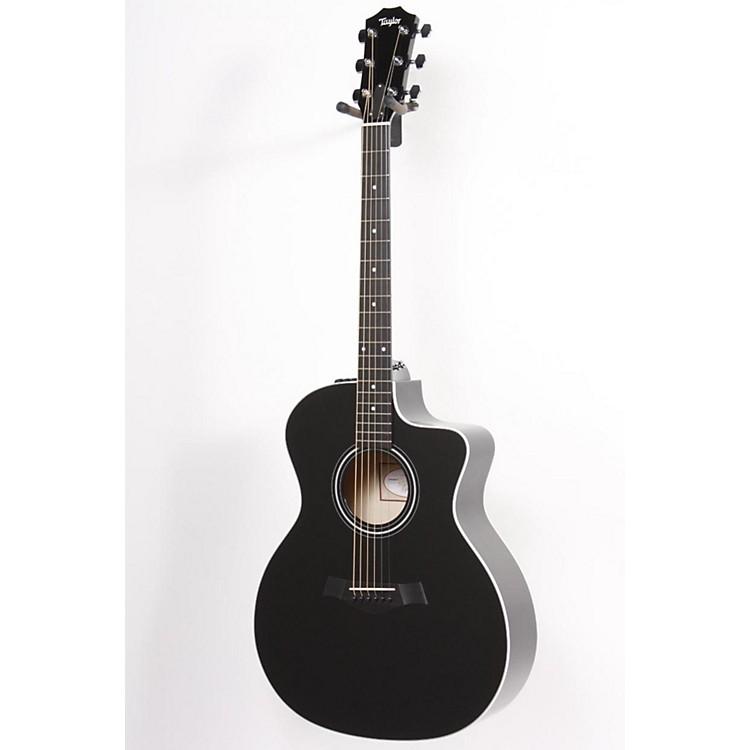 Taylor 214ce Rosewood/Spruce Grand Auditorium Acoustic-Electric Guitar Black 886830779800