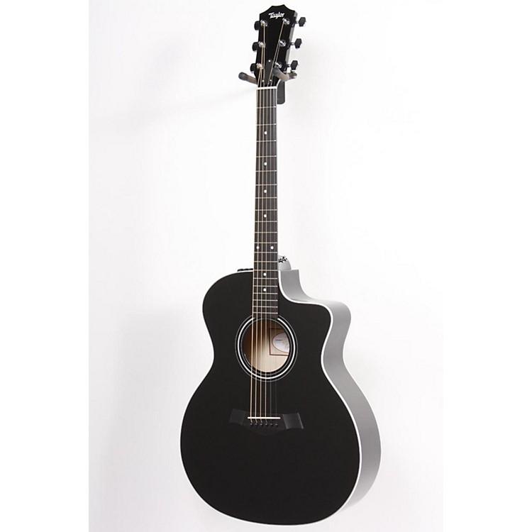 Taylor214ce Rosewood/Spruce Grand Auditorium Acoustic-Electric GuitarBlack886830779800