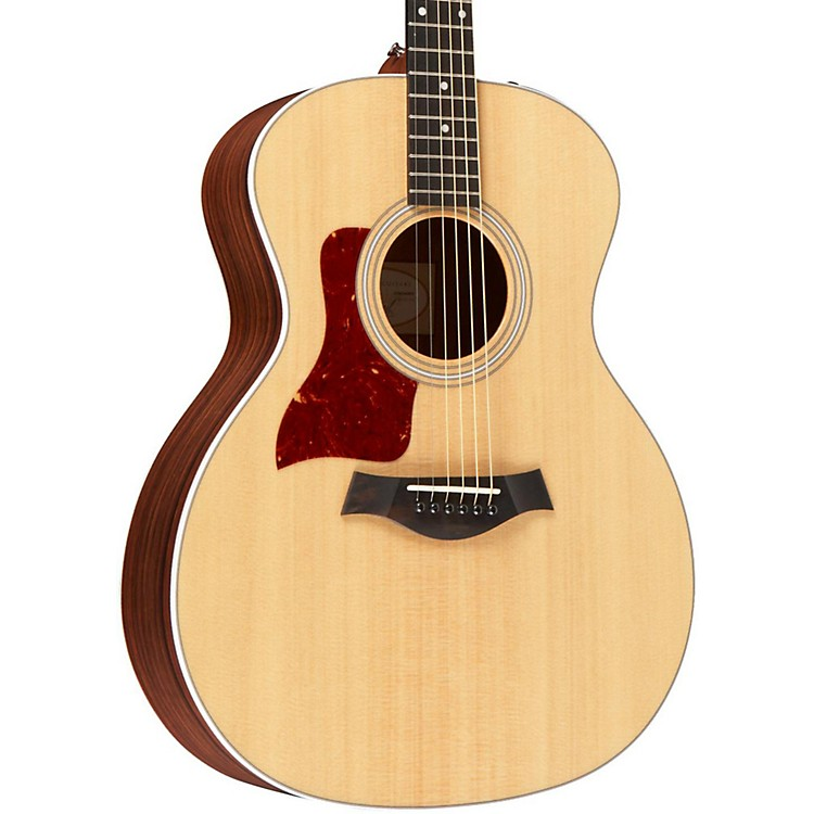 Taylor214e-L Rosewood/Spruce Grand Auditorium Left-Handed Acoustic-Electric GuitarNatural