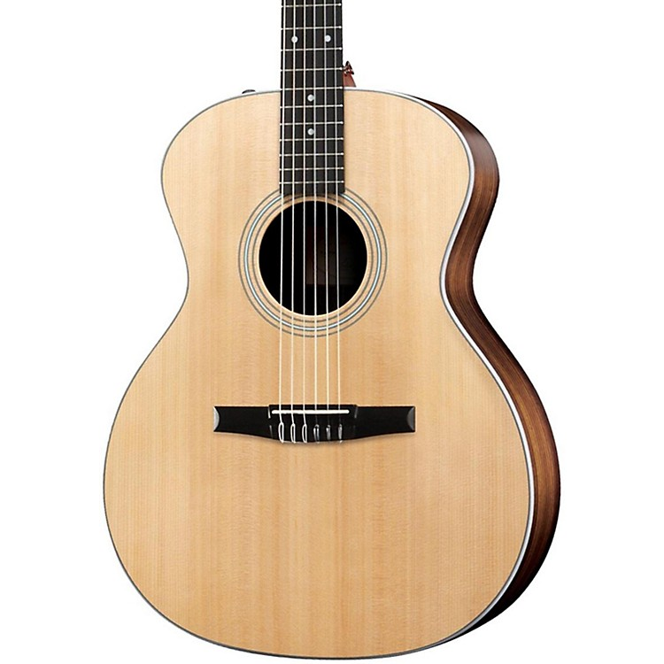 Taylor 214eN Rosewood/Spruce Nylon String Grand Auditorium Acoustic-Electric Guitar