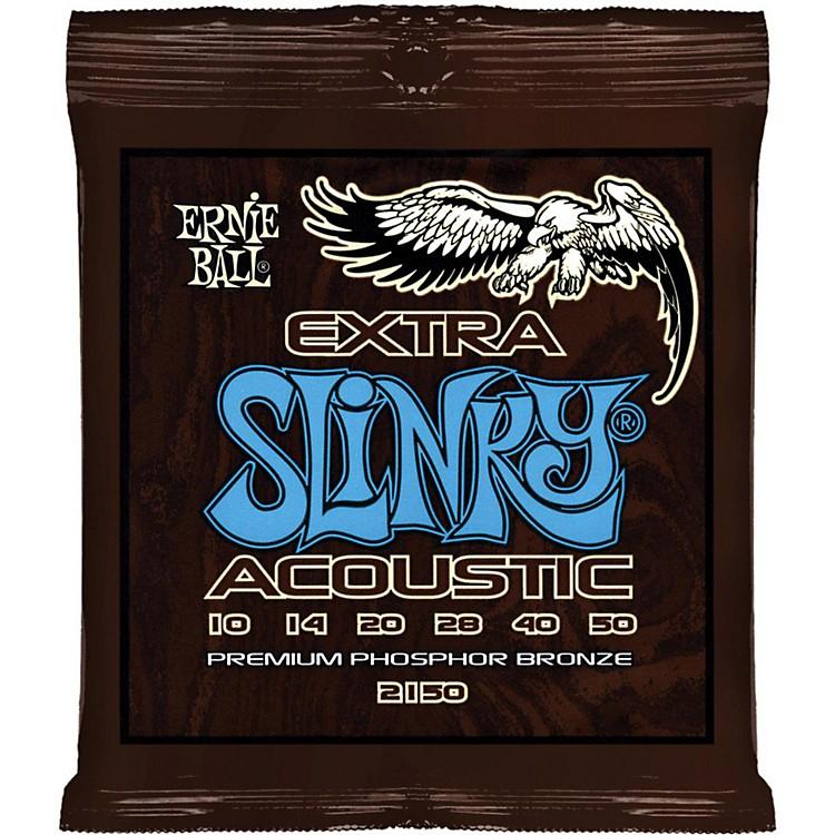 Ernie Ball2150 Extra Slinky Phosphor Bronze Acoustic Guitar Strings