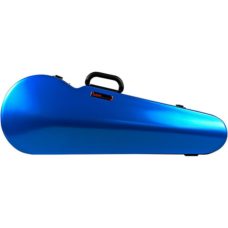 Bam 2200XL Contoured Hightech Adjustable Viola Case Azure Blue